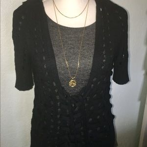 Anthropologie Knot & Knitted sweater